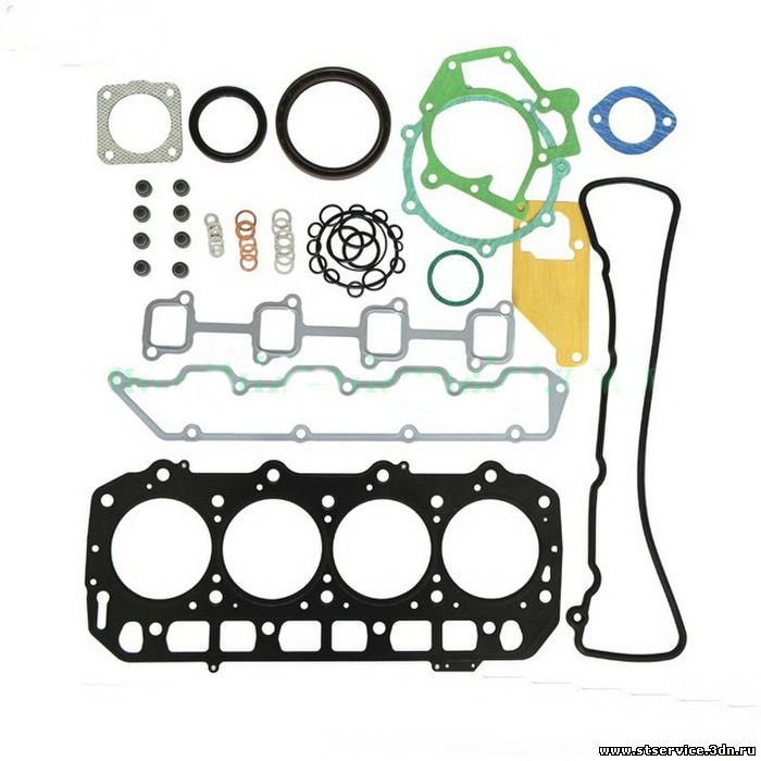 Запчасти к вилочному погрузчику - наборы прокладок и уплотнений двигателя в сборе (ремкомплект двигателя)