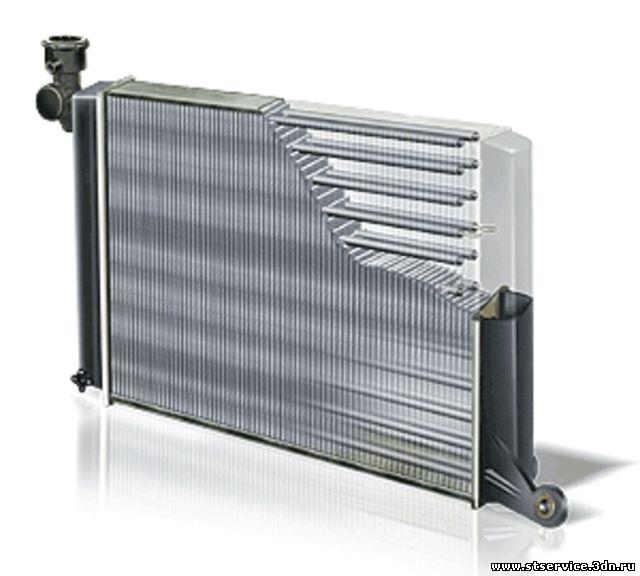 Радиатор для погрузчика